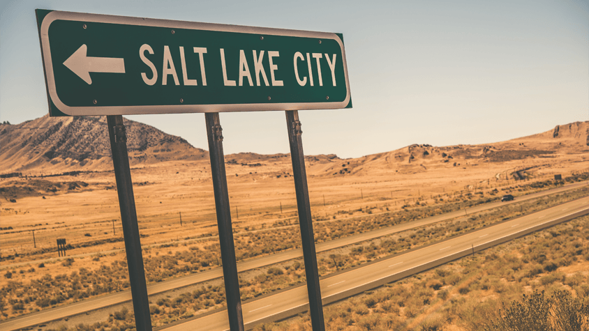 Salt Lake Desert